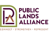Updated logo for the Public Lands Alliance