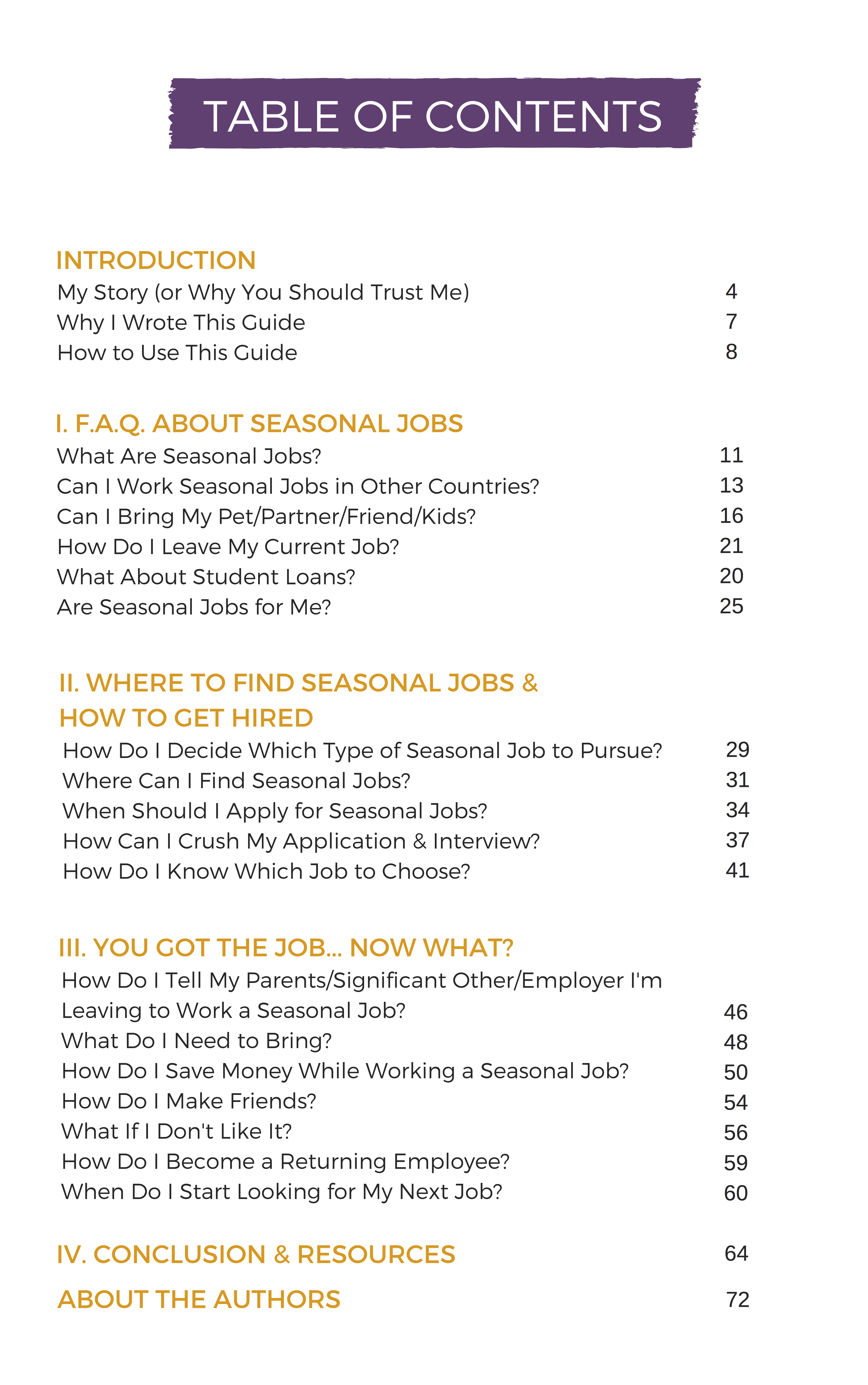 worksheet Trail Of Tears Worksheet the ultimate guide to seasonal jobs coolworks com the